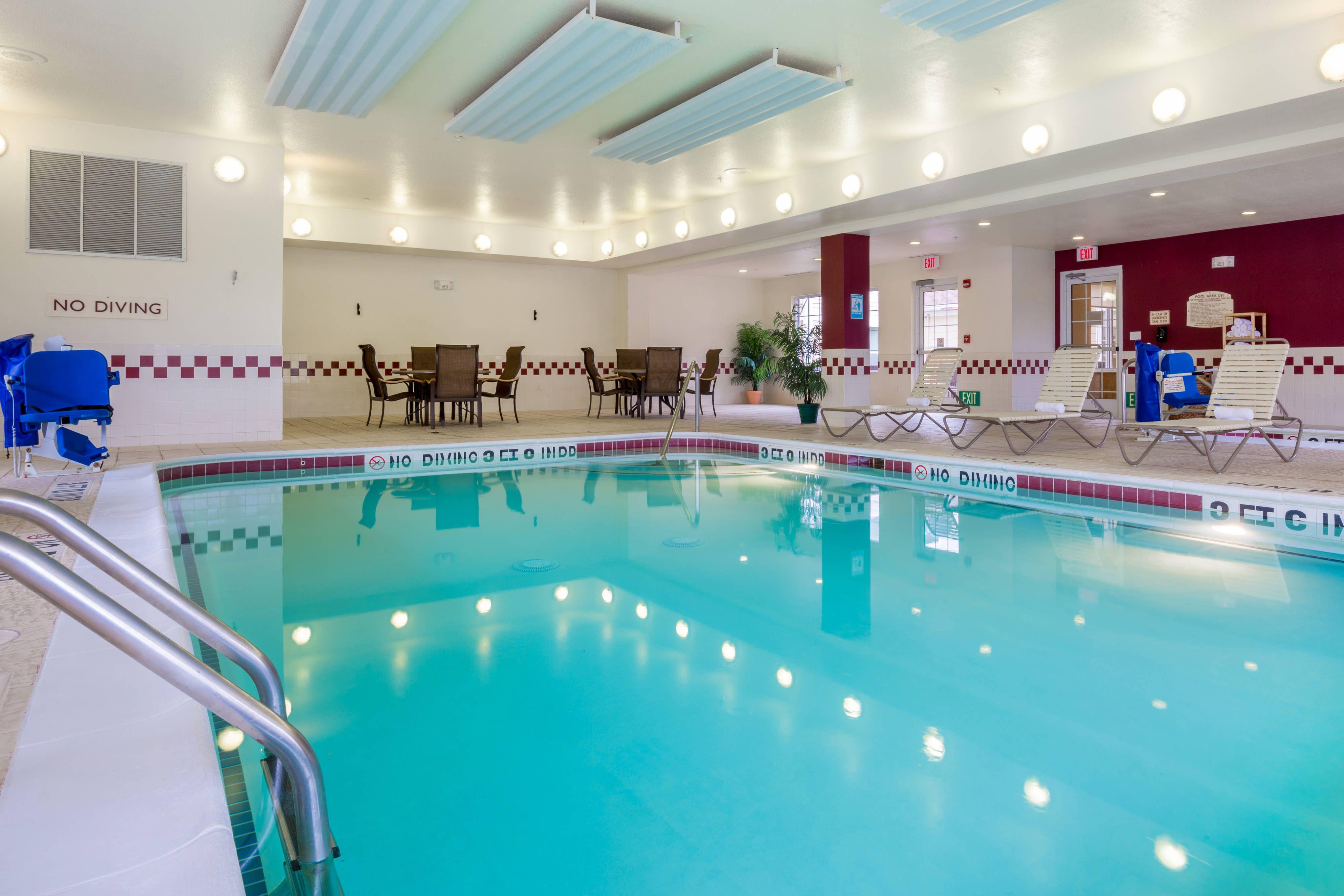 Residence Inn Houston North Indoor Pool Holidays Suite