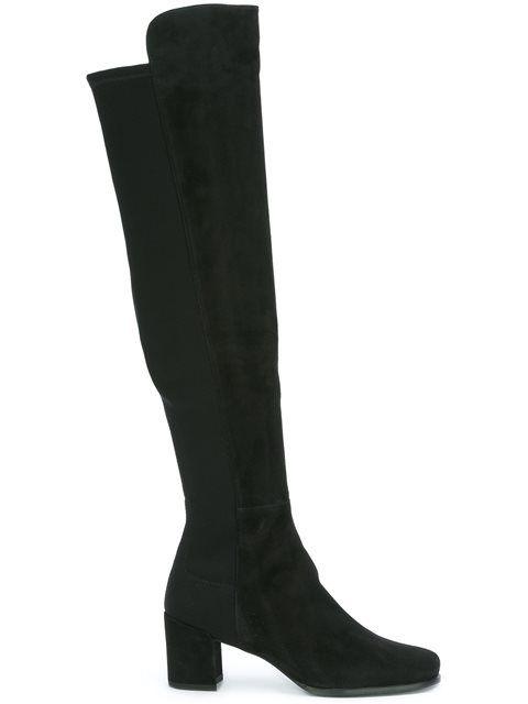 STUART WEITZMAN '5050' Mid Heel Boots. #stuartweitzman #shoes #boots