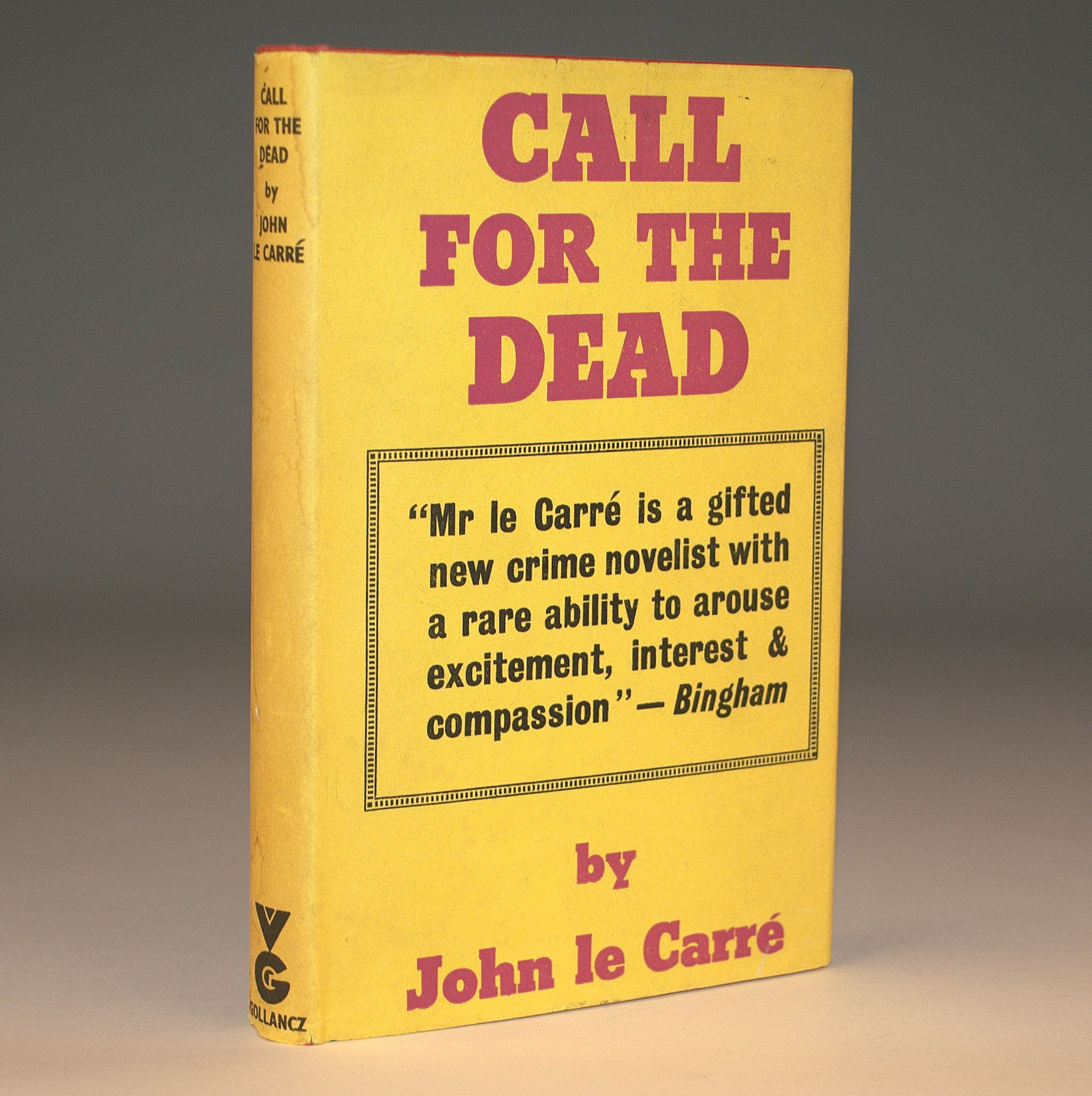 Call For The Dead by John le Carre first edition (With