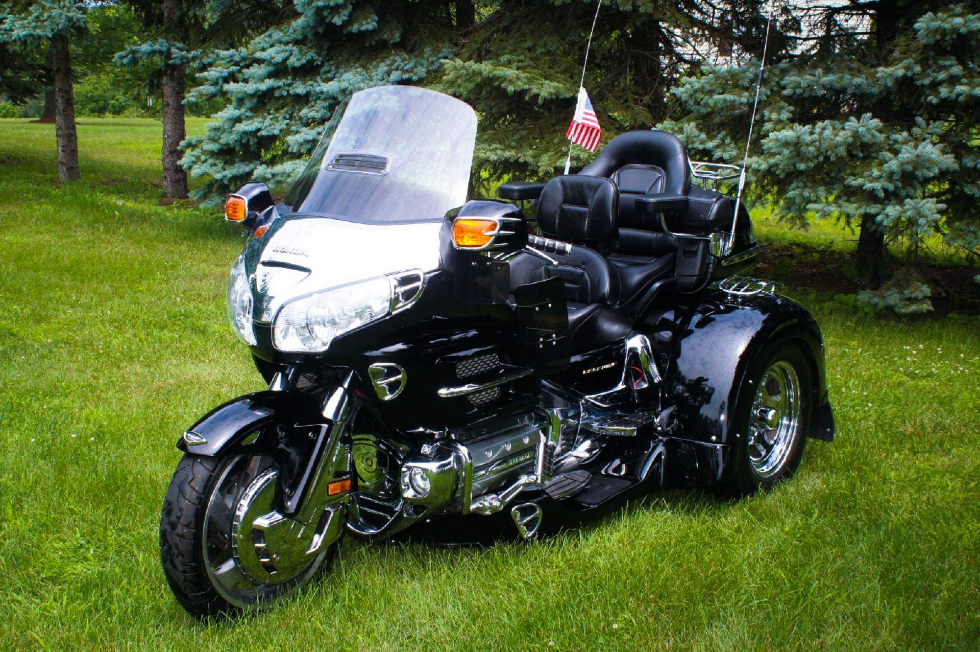 2001 Honda GoldWing GL1800 Trike. http://www.ebay.com/