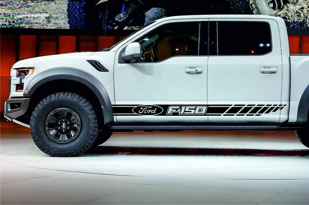 Decal Sticker Side Stripe for Ford F150 Window XL XLT Lariat Raptor King Ranch