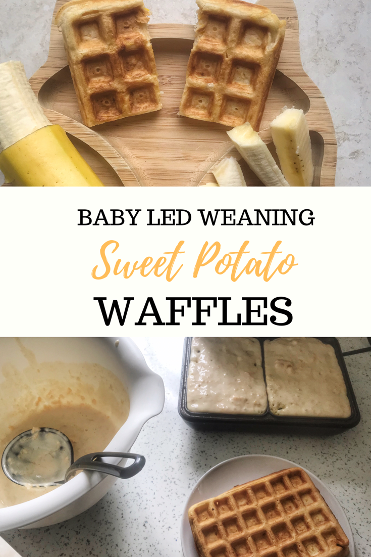 Waffles for Babies: Sweet Potato Weaning Waffles | Mummy to Dex
