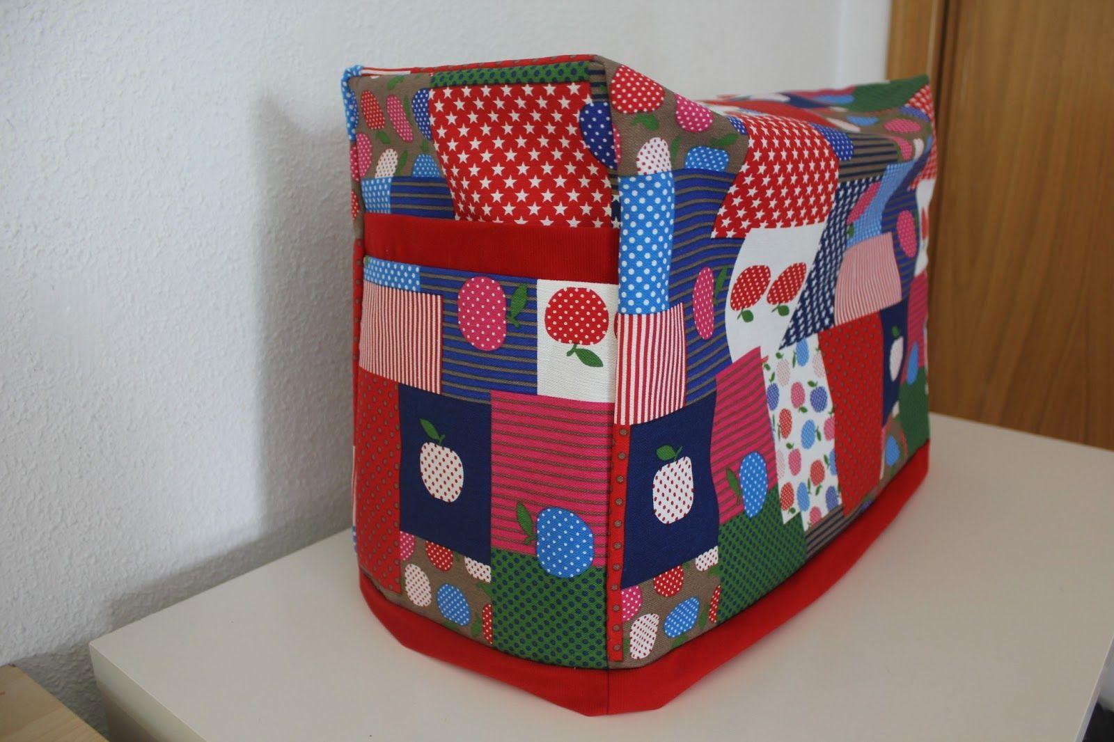 DIY: Funda de máquina de coser ~ Sara's Code: Blog de Costura + DIY