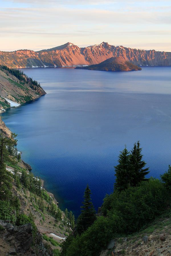 Crater Lake Sunrise by Pierre Leclerc Photography #craterlakeoregon