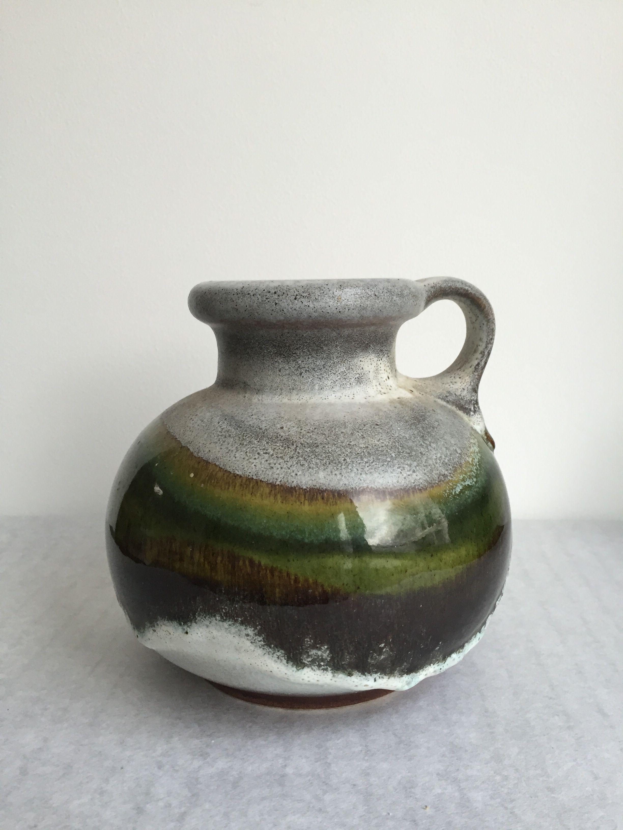 Pin On Mid Century Ceramic Vintage Vasen Vasen West Germany Studio Keramik
