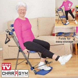 Chair Gym Total Body Workout Chair For Seniors Resistance Workout Senior Fitness No Equipment Workout