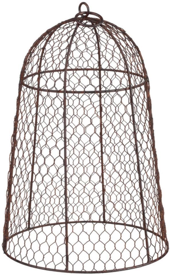 Chicken Wire Garden Garden Cloche as plant protector (would work ...