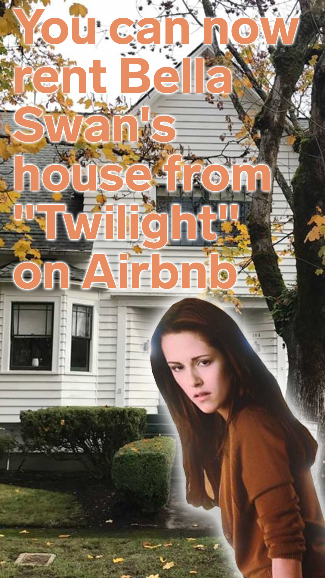 You Can Now Rent Bella Swan S House From Twilight On Airbnb Twilight House Twilight Film Twilight Fans