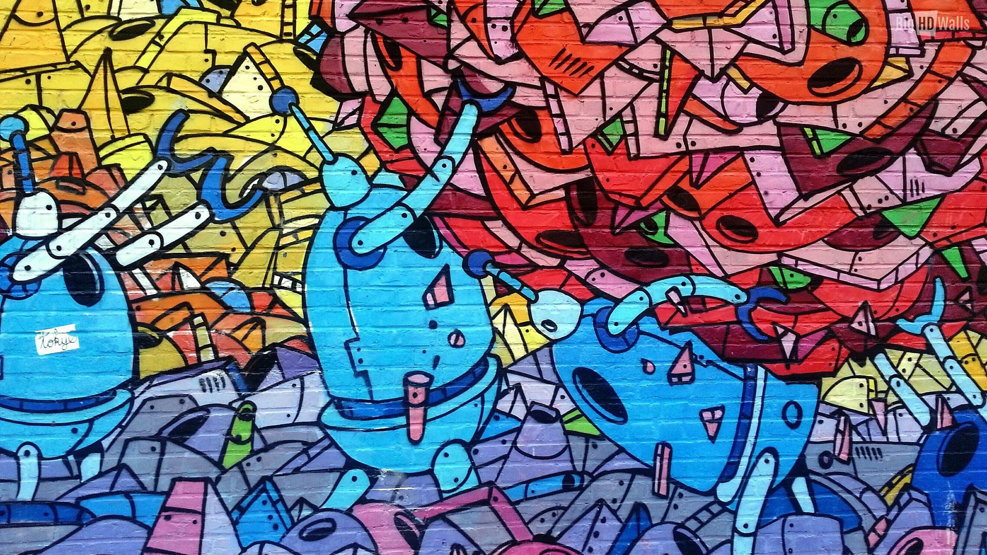 Graffiti Art Wallpapers Hd Resolution For Desktop Wallpaper