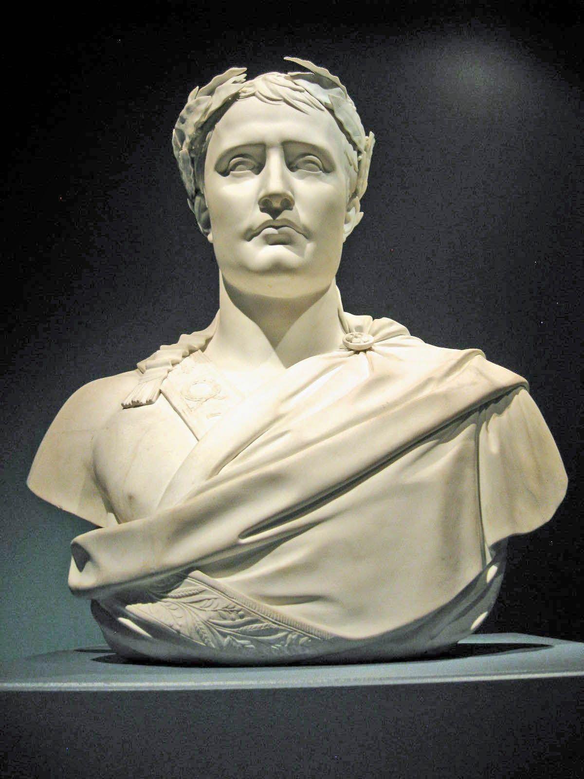 Bust of Napoleon with Laurel Wreath 05d9549492b