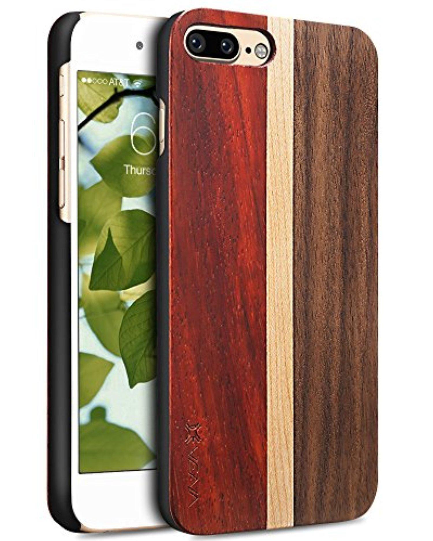 Iphone 7 Plus Case Vena Neu Unity Wooden Cover Slim Genuine Wood Backplate Hybrid Case For Apple Iphone 7 Plus Iphone 7 Plus Cases Iphone 7 Plus Best Iphone