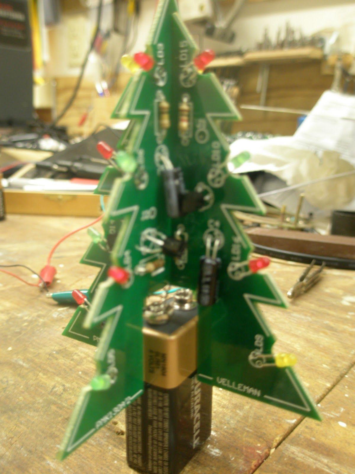 3D Xmas Tree Kit Velleman Christmas tree kit, Xmas