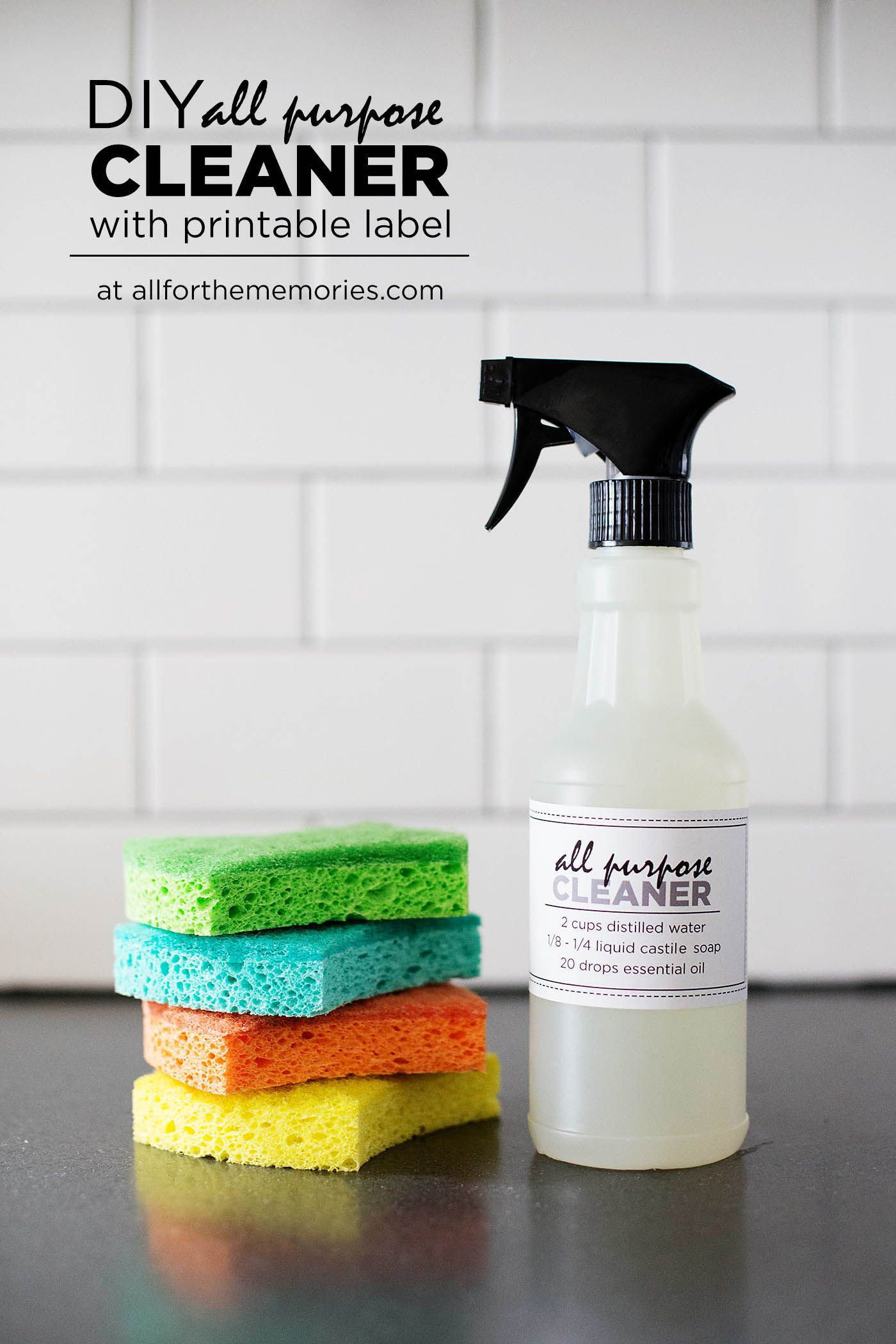 DIY all purpose cleaner | cleaning products | Diy all