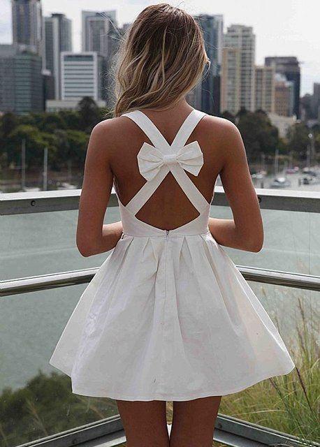 Angel Bow Dress