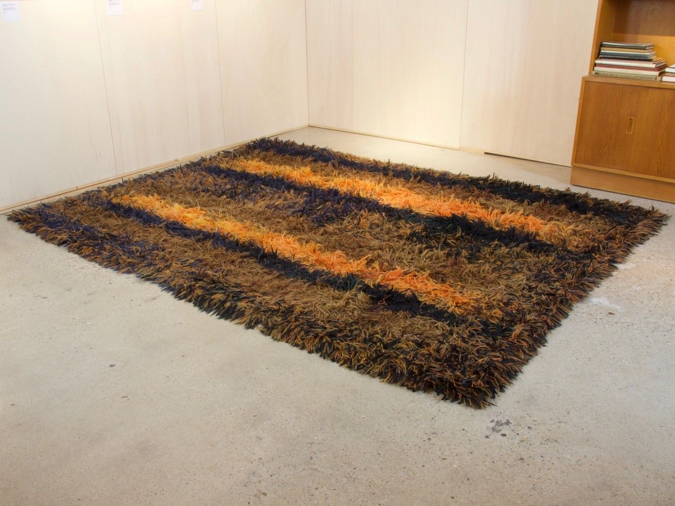 For Sale Deep Pile Rug By Atelier T Paapje In Circa 1960 Pile Rug Rugs Atelier