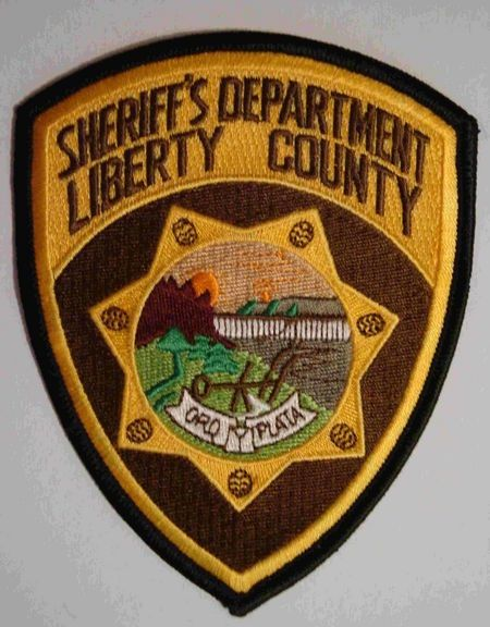Liberty County Sheriff Mt Police Patches Badge Sheriff Badge