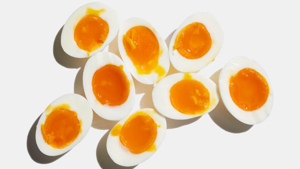 Jammy Soft-Boiled Eggs #boiledeggnutrition Jammy Soft-Boiled Eggs Recipe | Bon Appetit #boiledeggnutrition