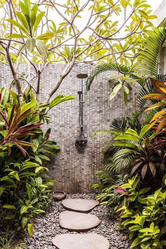 Pinterest | Outdoor bathroom design, Outdoor shower ...
