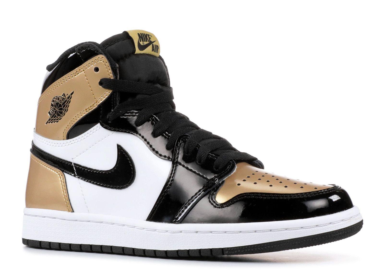 Air Jordan 1 Retro High Og Nrg Gold Toe Air Jordans Nike Air