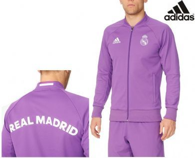 Chaqueta morada Real Madrid Anthem Adidas 2017