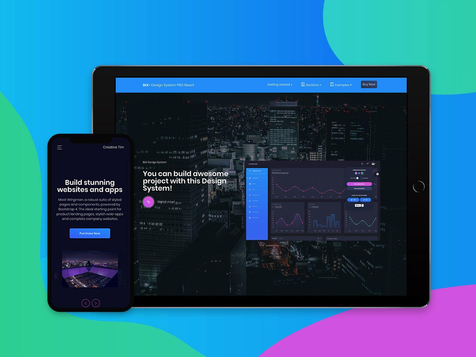 Blk Design System Pro React Design System Web Design Resources Design