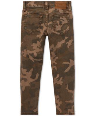 4687d7b6d63cf Polo Ralph Lauren Toddler Boys Sullivan Slim Stretch Camo Jeans - Barnet Camo  2/2T