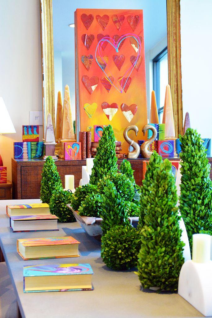 'Tis the season of love at #Dallas #Mecox #interiordesign #home #decor #design