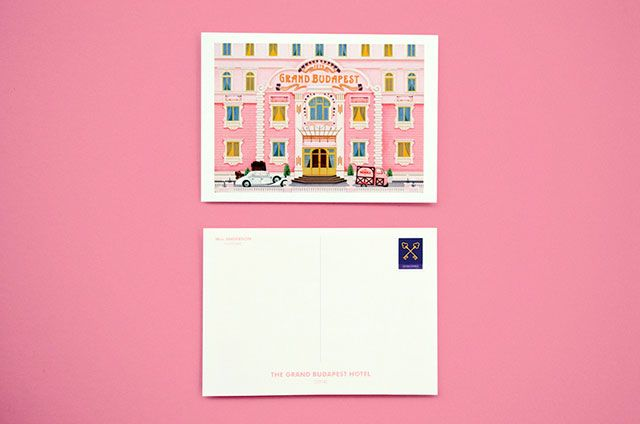A set of cards created in celebration of Wes Anderson movies   Buro 24/7