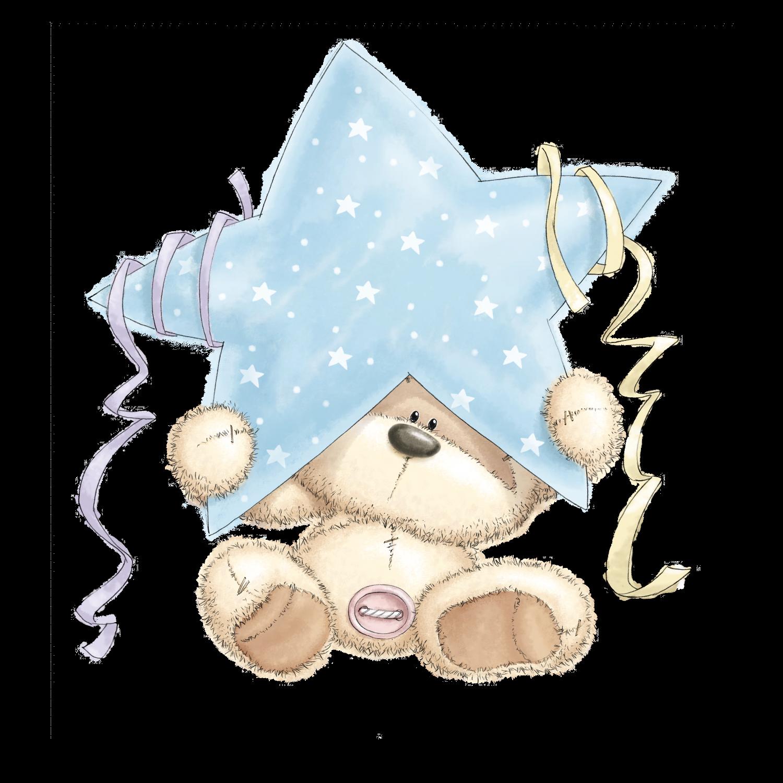 Ursinho com Estrela nas Mãos