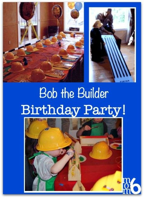 Great Year Old Birthday Party Idea A Bob The Builder Party