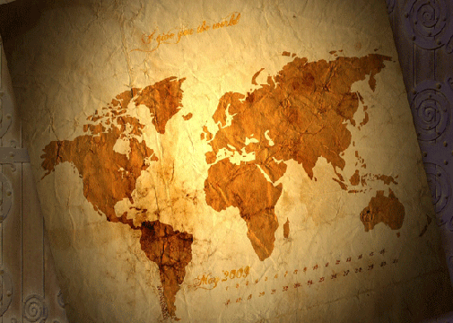 Old world map wallpaper diy projects to try pinterest mapas old world map wallpaper gumiabroncs Gallery