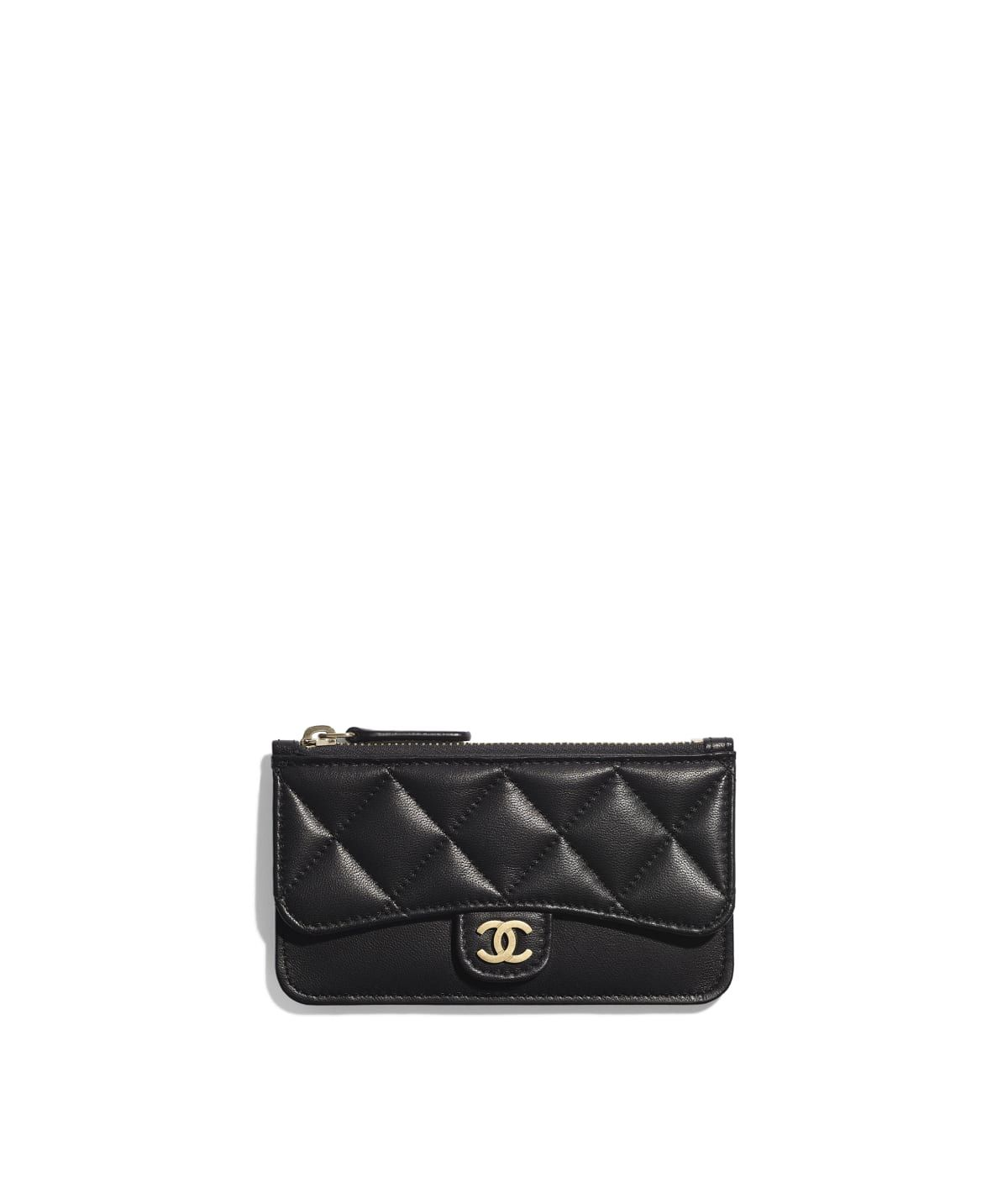 91eeb58305bc Small Leather Goods of the Spring-Summer 2019 CHANEL Fashion collection    Classic Card Holder