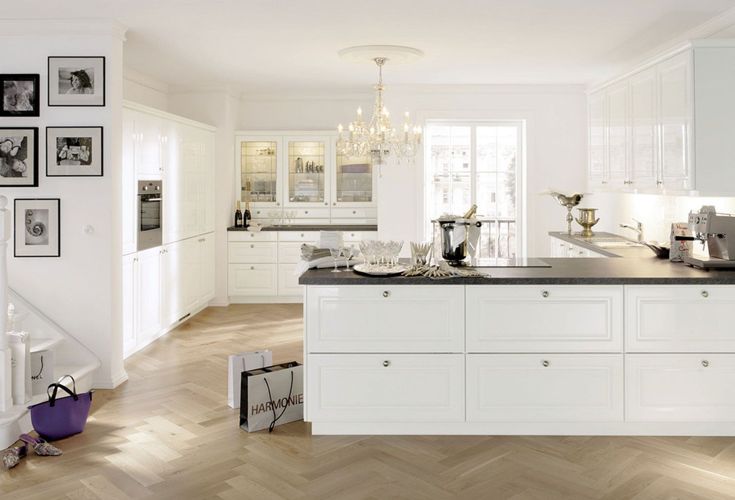 Notice How It Perfectly Balances The Combination Of Traditional With A  Slightly Modern Feel. This Kitchen Features Alno Products.
