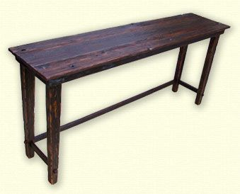 Lake House Bar Table for behind sofa andor wall across from wet
