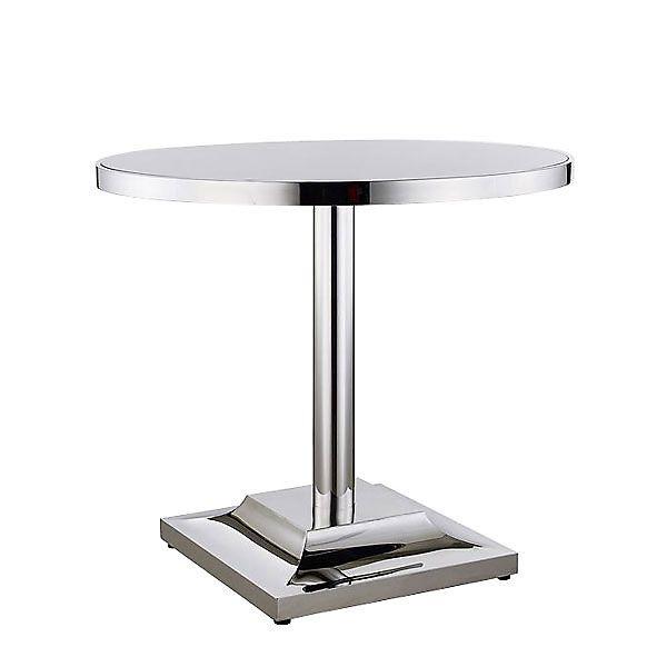 Edelstahl Bistro Tisch - Edelstahl-Bistro-Tisch \u2013 Einholung eines