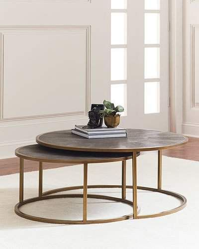 Coffee Table Near Me: Ginny Nesting Coffee Tables