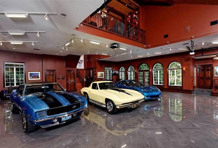 Home Suburban Men Garage Design Dream Car Garage Ultimate Garage