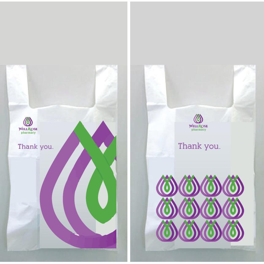 Image Result For Pharmacy Plastic Bag Design