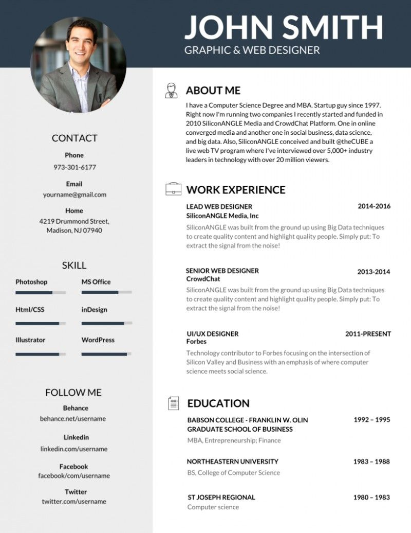 Pin by Wei on Creative resume Resume template word
