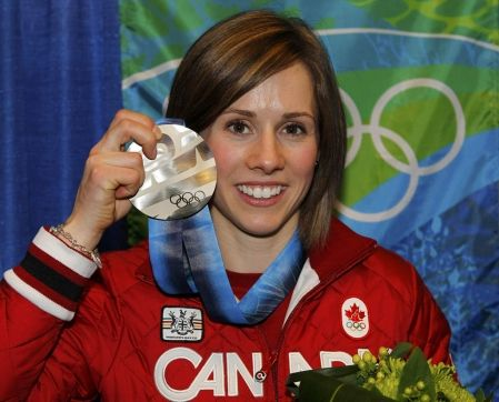 Jennifer Heil Won The First Gold Medal For Canada In The 2006 Winter Olympics Games In Turin Italy A 2010 Winter Olympics Winter Olympic Games Winter Olympics