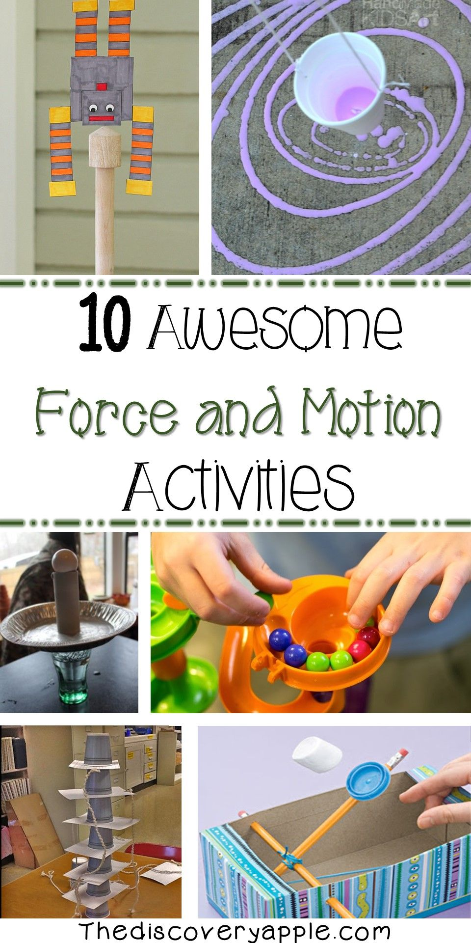 hight resolution of 10 awesome force and motion activities. Lots of great activities all in one  place!   Force and motion