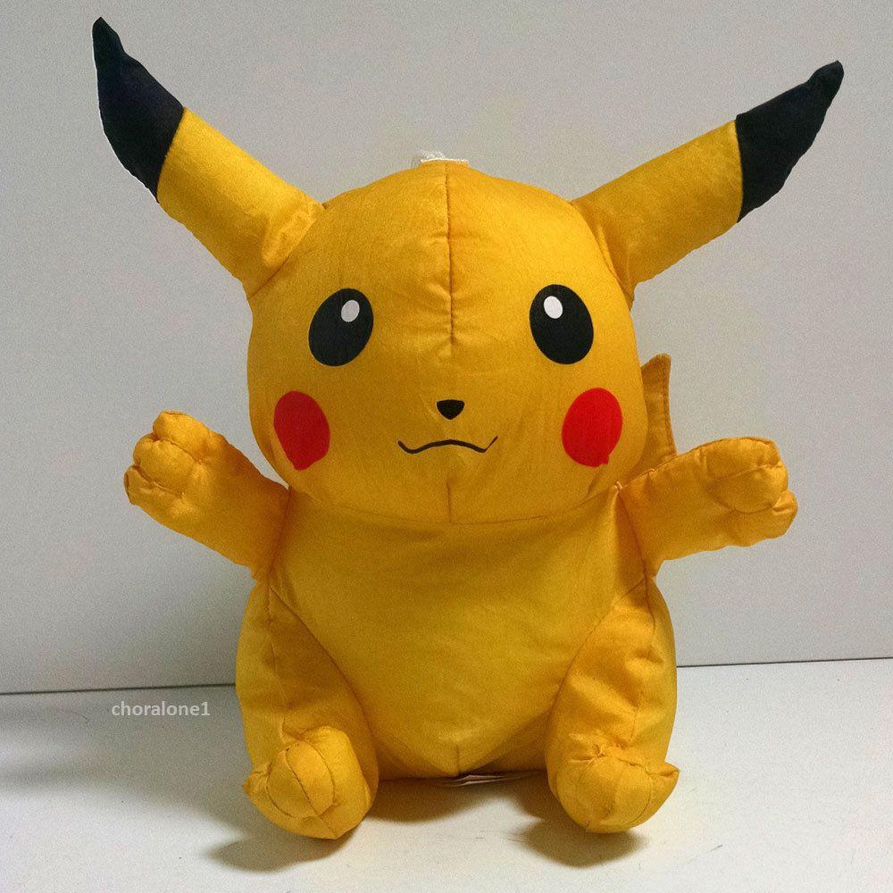 Nintendo Pokemon Pikachu Bath Sponge Buddie Buddy 8\