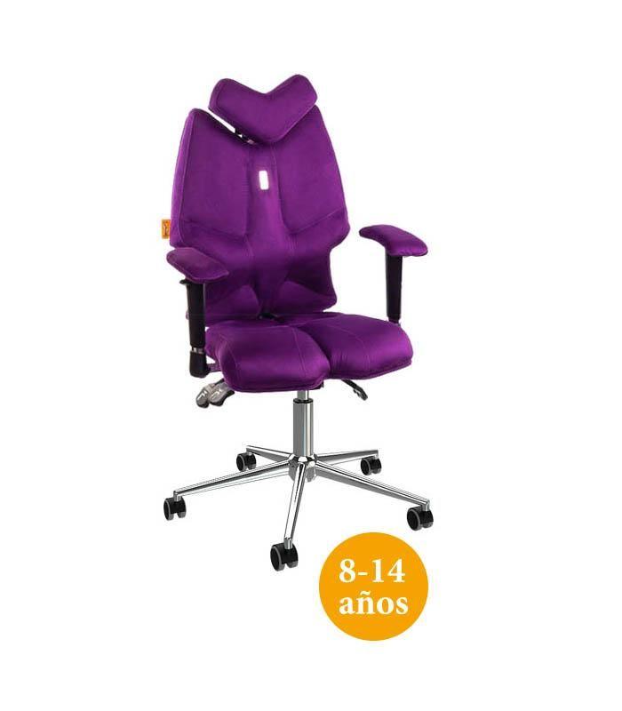 La silla de escritorio Juvenil ergonómica Fly previene y corrige ...