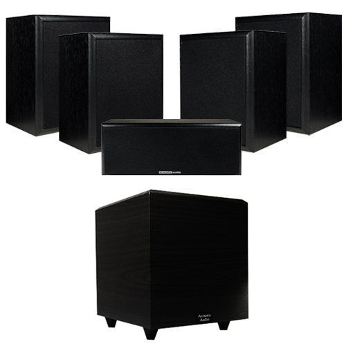 Acoustic Audio 1100W 5.1 Home Theater Surround Sound Speaker