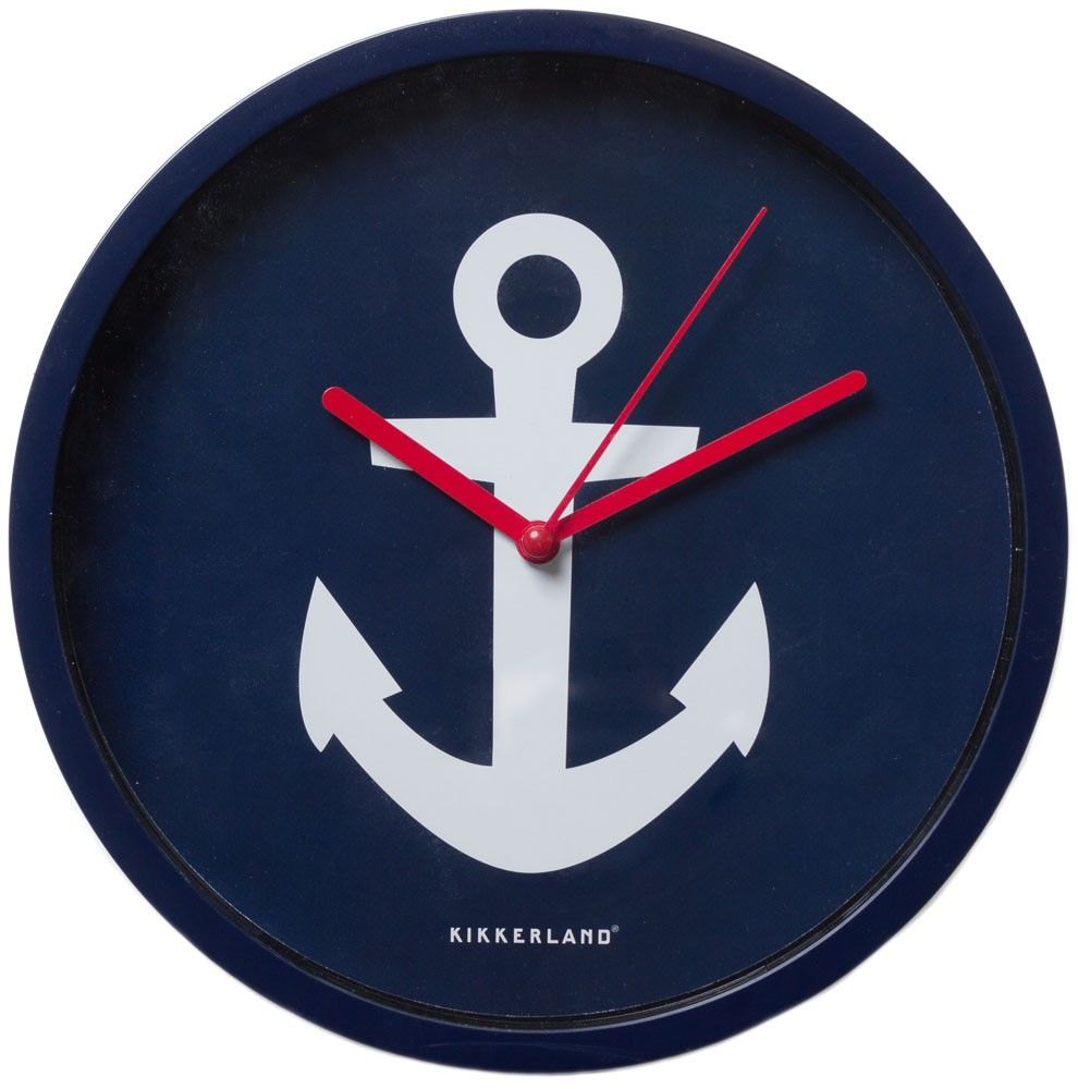 Sourpuss anchor wall clock navy for the home pinterest sourpuss anchor wall clock navy amipublicfo Images