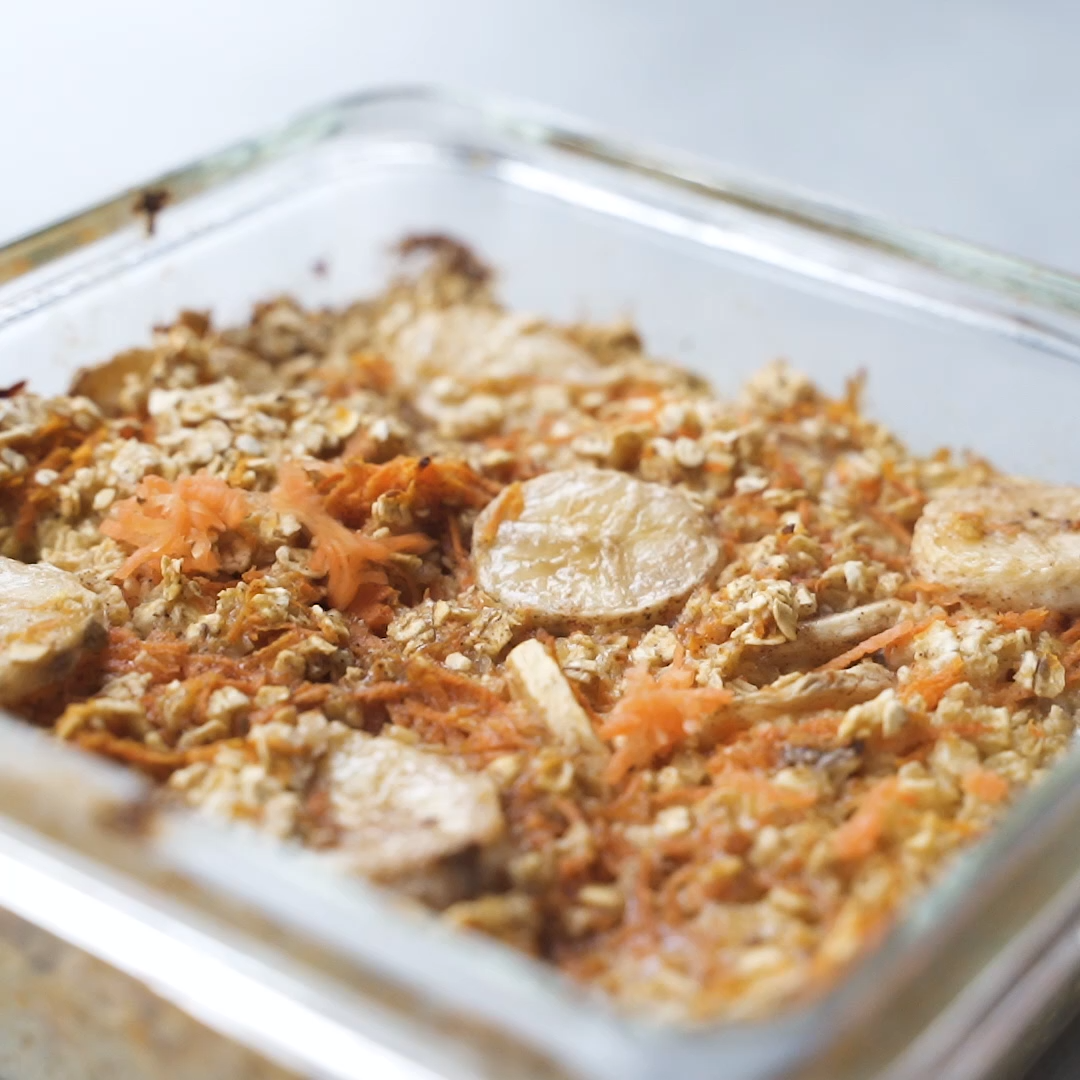 #Baked #Cake #Carrot #Oatmeal Leckeres Baked Oatmeal Rezept im Geschmack Karotte… – Carey&CleanEatingS