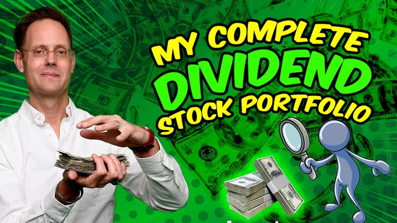 REVEALING MY COMPLETE DIVIDEND STOCK PORTFOLIO (All 46 Dividend Stocks)