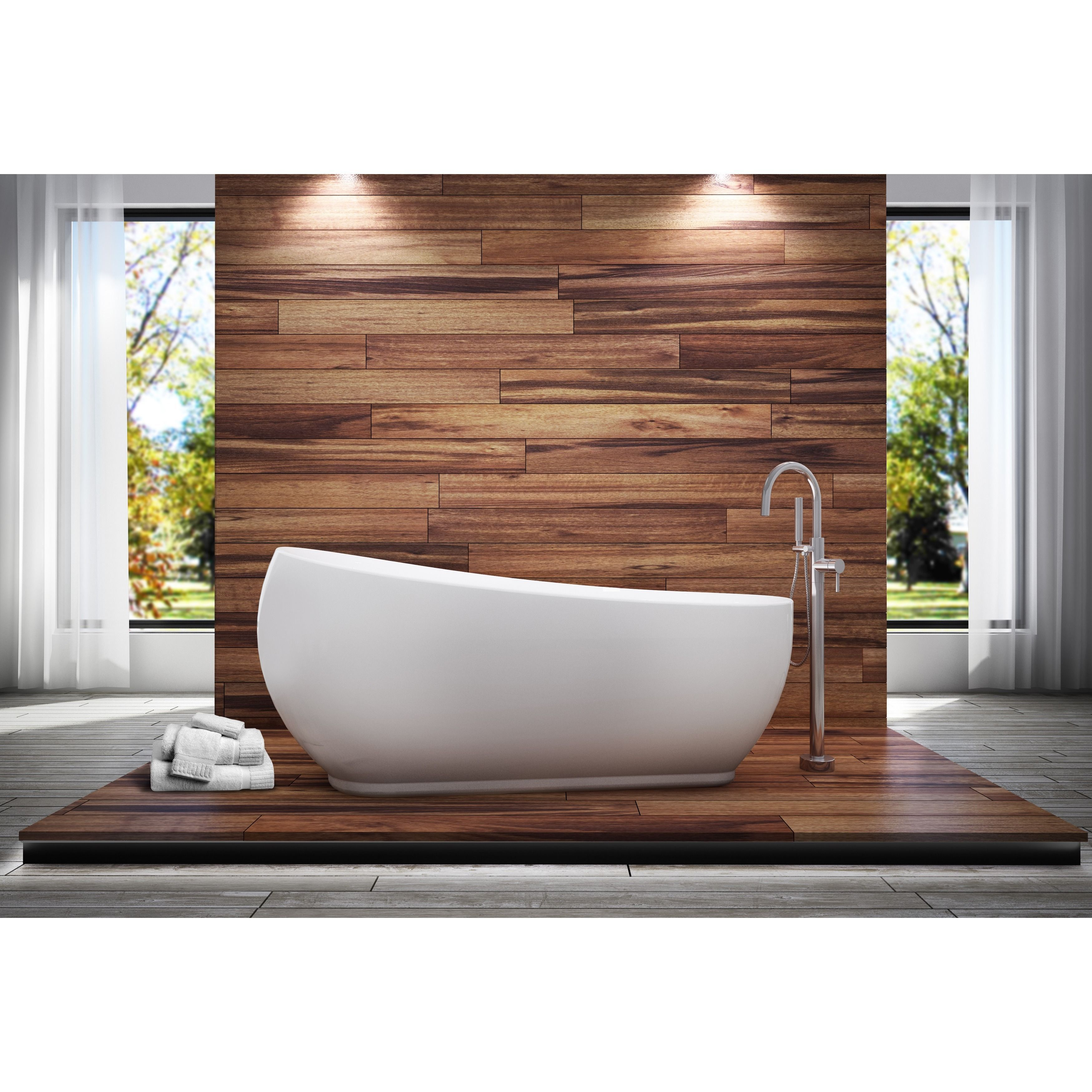 Hook Up The Oslo All In One Tub Combo And Enjoy A Bathing Experience