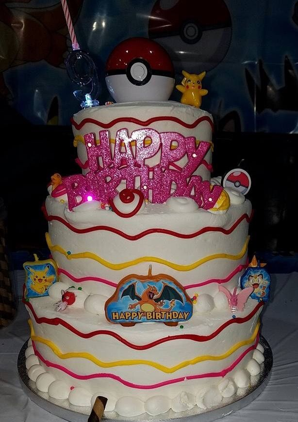 Awesome Pokemon Girl Birthday Cake From Sams With Images Pokemon Funny Birthday Cards Online Overcheapnameinfo