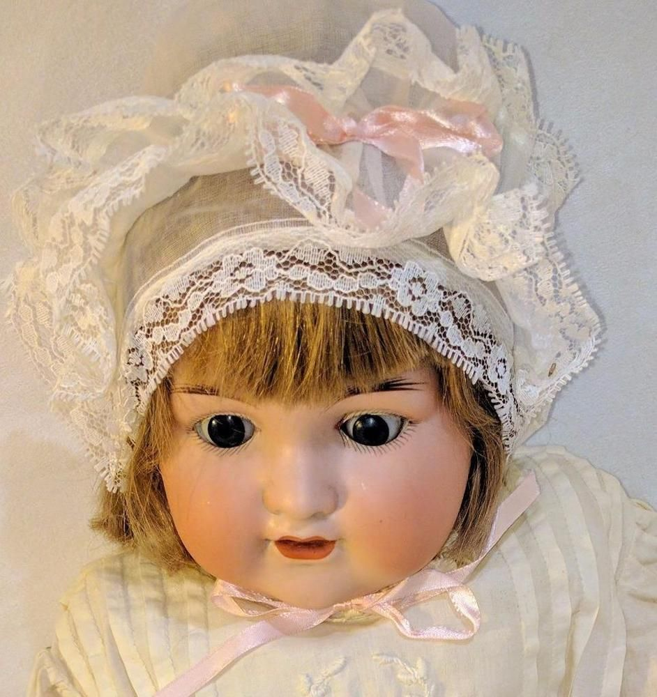 "LM Antique Armand Marseille 990 A. 10 M Bisque Composition 20"" Jointed Baby Doll 